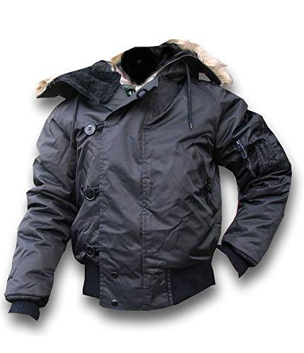 4550365ea47 N2B ECW Army Snorkel Parka Flight Mens Jacket NAVY BLUE