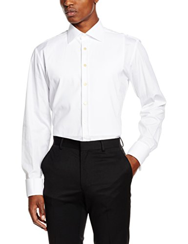 thomas-pink-es-marcella-double-cuff-chemise-casual-homme-blanc-40