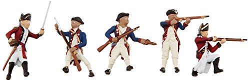Woodland Scenics plástico Escena Setters (R) Figurines-Revolutionary Guerra Soldados 5kg