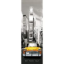 1art1 43453 Poster de Porte New York Taxi No 1 158 X 53 cm