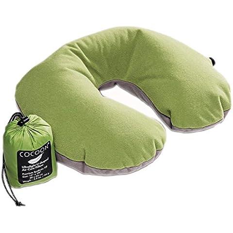 Cocoon Air Core - Almohadas y mantas de viaje - Ultralight gris/verde 2016