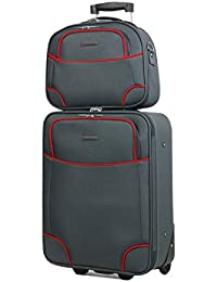 valise cabine 50 cm et vanity 35 cm MADISSON 55002 GREY