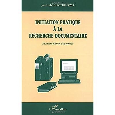 Initiation pratique à la recherche documentaire