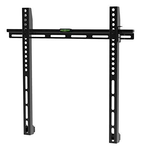 Archimède dwd975 Porte TV 23 – 55 pouces, métal, noir, 44 x 3 x 43 cm