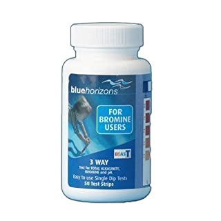Blue horizons 3 Way Bromine Test Strips for hot tub and swimming pool