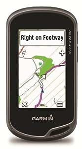 Garmin Oregon 650 Handheld GPS with TOPO UK, Ireland Light Map and 8MP Camera