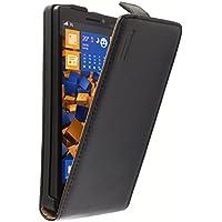 mumbi Leder Flip Case für Nokia Lumia 930 Tasche