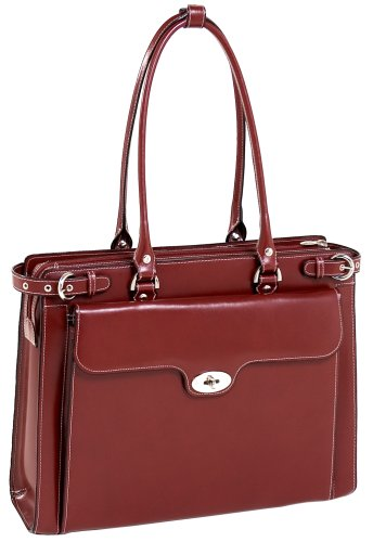 mcklein-winnetka-94836-red-leather-ladies-briefcase-w-removable-sleeve