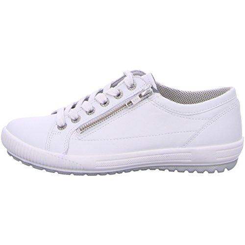 Legero  818-51, Chaussures de ville à lacets pour femme WHITE KOMBI