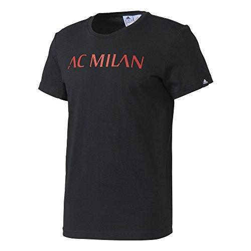 adidas ACM Gr Tee Bet T-Shirt AC Milan für Herren, Schwarz, L -