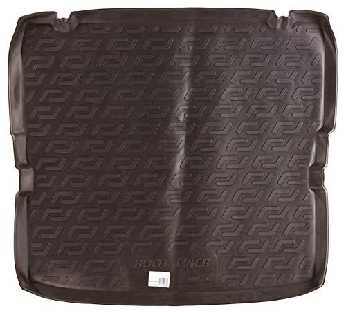 SIXTOL Auto Kofferraumschutz für den Opel Zafira B - Maßgeschneiderte antirutsch Kofferraumwanne für den sicheren Transport von Einkauf, Gepäck und Haustier