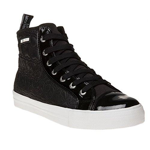 Love Moschino Hi Top Donna Sneaker Nero