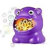 Happy Event Hippo batteriebetriebener automatischer Bubble Machine Maker für Kinderspielzeug