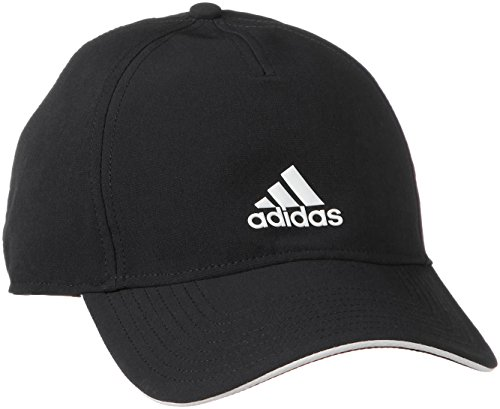 Adidas c40 5panel climalite, headwear unisex-adulto, nero/bianco, osfy