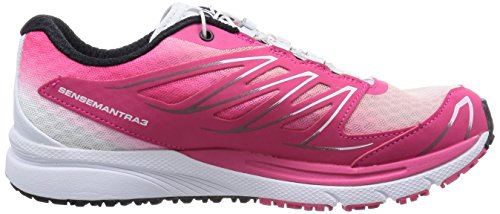 Salomon Sense Manatra 3, Chaussures de Trail Femme rose (Hot Pink/White/Black)