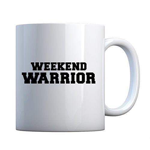 Indica Plateau Weekend Warrior Mug de cadeau en céramique 11oz blanc nacré