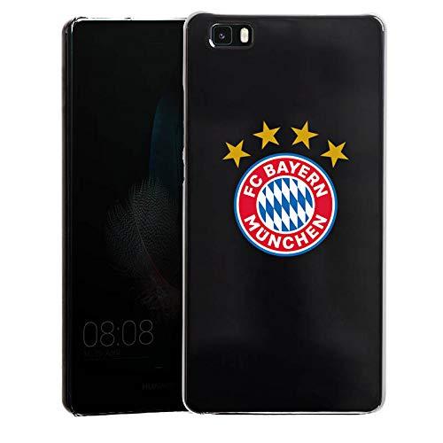 DeinDesign Huawei P8 lite (2015-2016) Hülle Case Handyhülle FC Bayern München 4 Sterne ohne Hintergrund