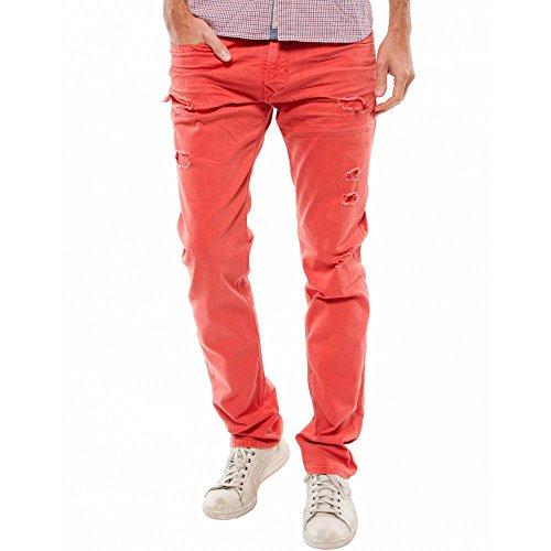 Kaporal Jeans Broz Destroy ibisco arancione 34