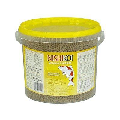 Nishikoi Nourriture pour poisson de bassin de germe de blé 2,5 kg granulés 6 mm grand