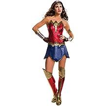 Mujer Maravilla traje para las mujeres 6tlg Batman v Superman DC Comics roja, azul, rojo