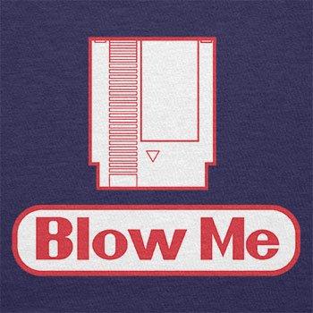 TEXLAB - Blow Me - Herren T-Shirt Navy