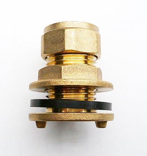 En laiton 15 mm Raccord de compression