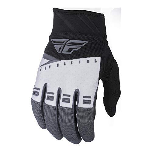 FLY Course 2019 F-16 Gants Motocross - Noir Blanc Gris, XXXL