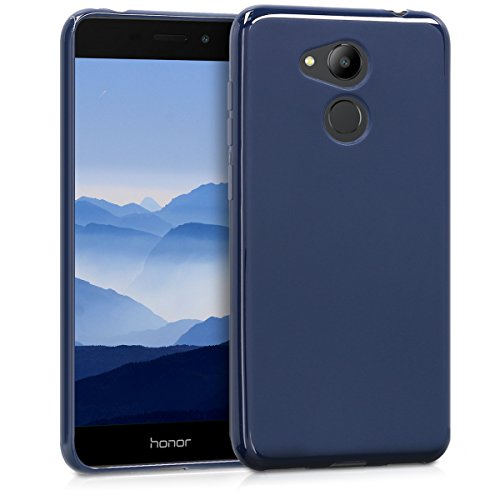 kwmobile Huawei Honor 6C Pro Hülle - Handyhülle für Huawei Honor 6C Pro - Handy Case in Dunkelblau matt