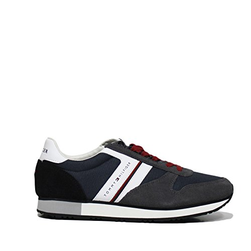 Tommy Hilfiger New Iconic Sneaker Uomo Grigio 42