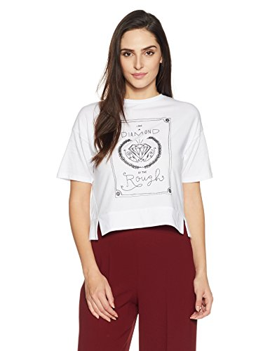 Symbol Women's Boxy Graphic Print T-shirt