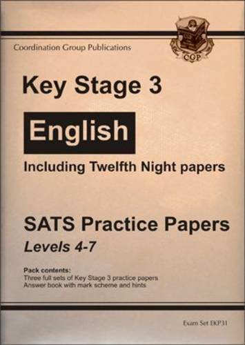 KS3 English SATs Practice Papers