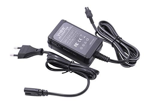 Kamera-Netzteil passend für Sony Handycam HDR-CX130E ECC. ersetzt AC-L20, AC-L20A, AC-L20B, AC-L25, AC-L25A, AC-L25B, AC-L200 ECC. (Netzteil Für Sony Handycam)