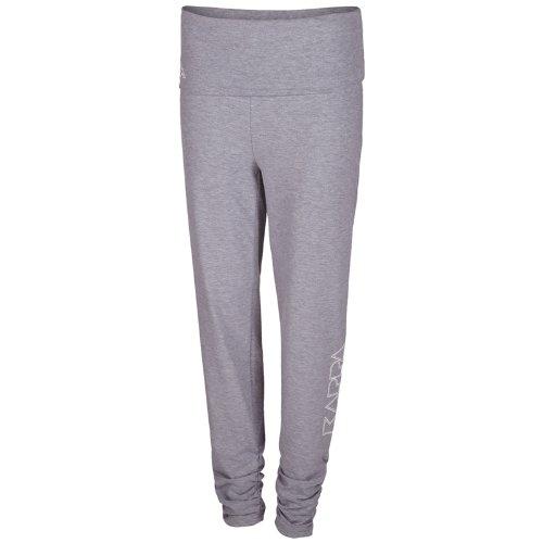Kappa Damen Hose Women Pants, Grey Melange, S, 303146 Preisvergleich