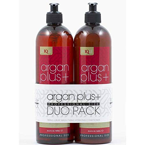 Argan Plus+ Shampoo and Conditioner Duo Pack 789ml -