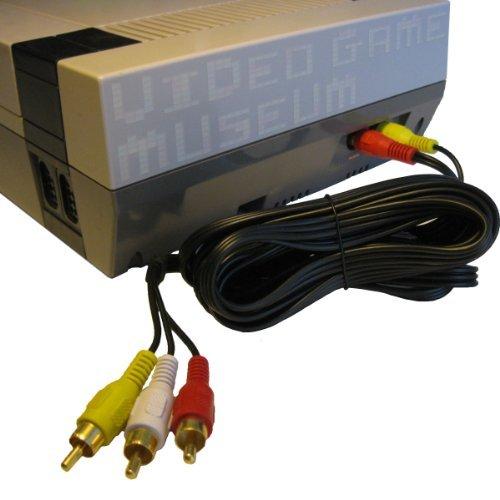NES AV Cable Simulated Stereo Audio Video TV Cord for Original Nintendo...