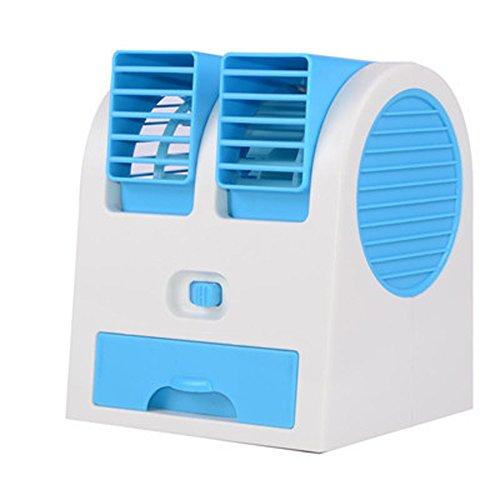 Homieco mini condizionatore d'aria ventilatore usb ricaricabile portatile ventilatore da tavolo raffrescatore evaporativo umidificatore purificatore d'aria per ufficio camera casa