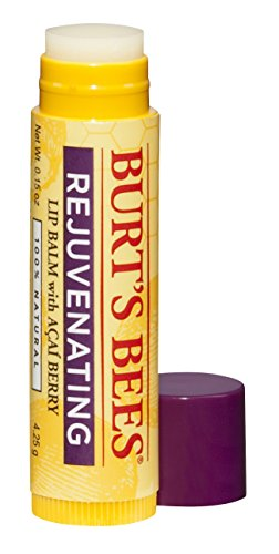 Burt's Bees 100% Natural Lip Balm, Acai, 4.25g