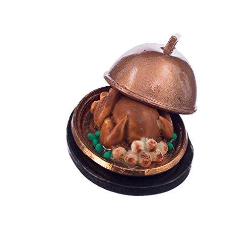 1:12 Puppenhaus Lebensmittel Essminiaturen Türkei Weihnachtstruthahn puppenhaus zubehör puppenhaus essen