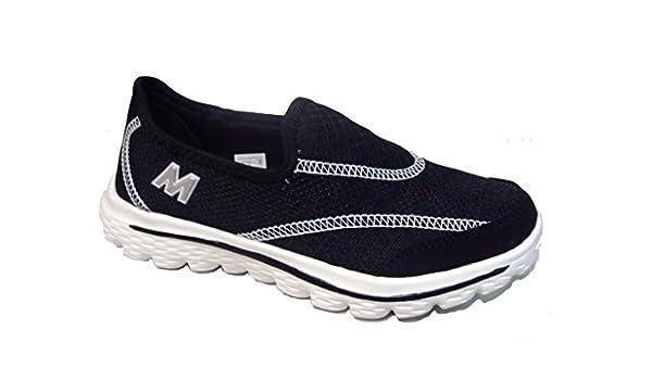 Damen Walkingschuhe, schwarz - schwarz - Größe: 36 Madigan
