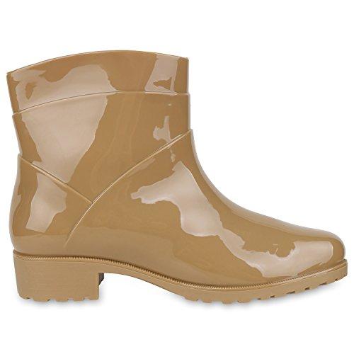Japado - Stivali di gomma Donna cachi