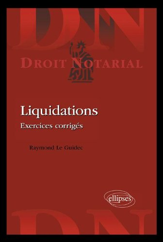 Liquidations Exercices Corrigés