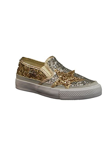 Lu , Jungen Sneaker * GLITTER ORO
