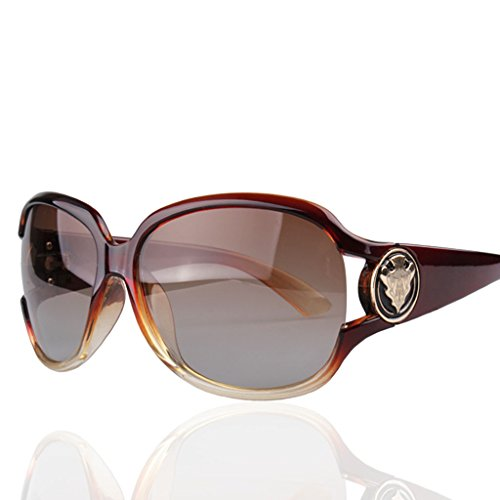 Lym &occhiali protettivi occhiali da sole da donna occhiali da sole polarizzati occhiali da sole da autista retro occhiali da guida (colore : d)