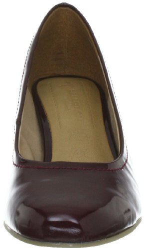 s.Oliver Selection 5-5-22411-39 Damen Klassische Pumps Rot (WINE PATENT 573)