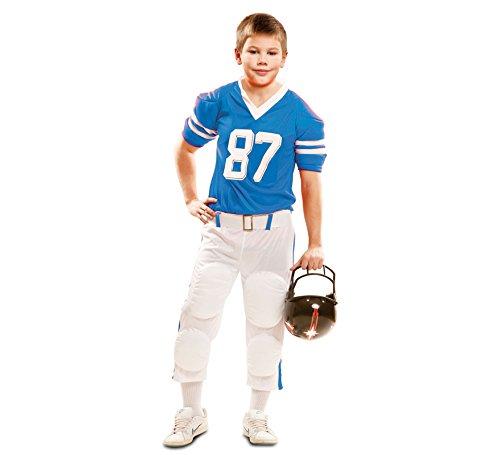 Imagen de viving  disfraz jugador rugby azul3 4 años