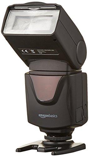 AmazonBasics - Elektronisches Blitzgerät für DSLR-Kameras