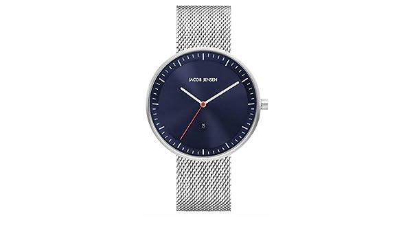 Mit Herren Quarz Jacob Uhr Armband Jj279 Jensen Edelstahl Analog dCeWxorB