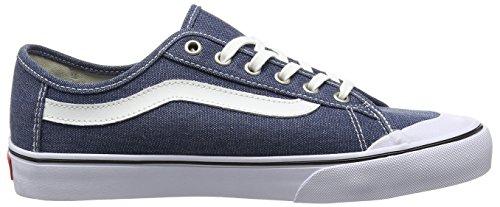 Vans Black Ball SF, Baskets Basses Homme Bleu (Washed/Ensign Blue)