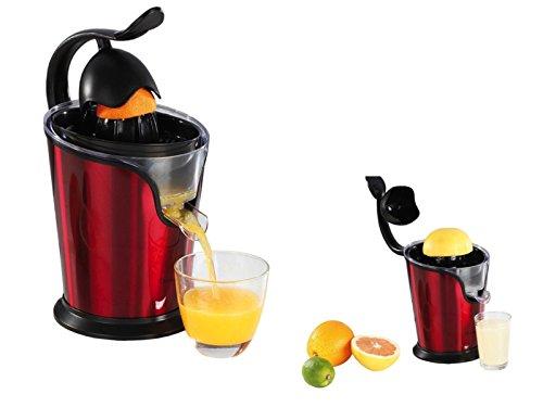 -Exprimidor eléctrico con boquilla naranjas de prensa Exprimidor 100W Licuadora, 2Conos, motor...