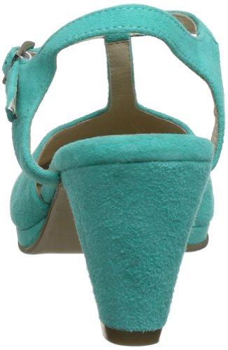 Andrea Conti 0615317, Sandali col tacco donna Blu (Blau (aquamarin 018))